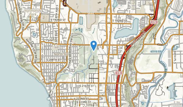 Des Moines Creek Park Map