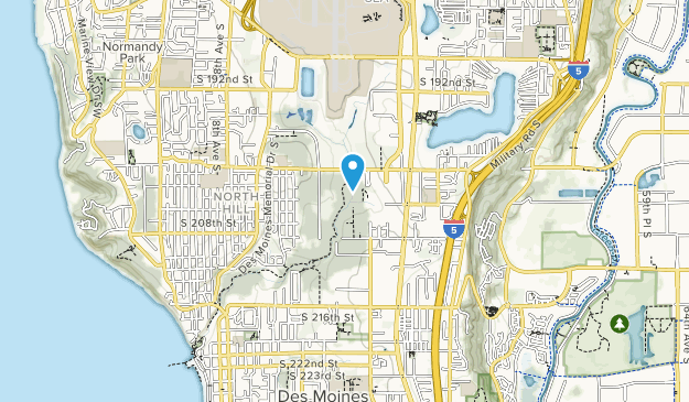 Des Moines Creek Park Map