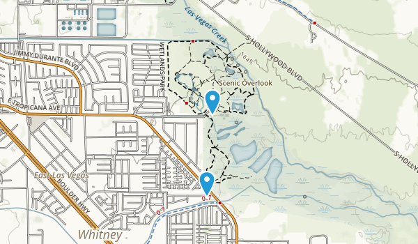 Desert Wetlands Park Map