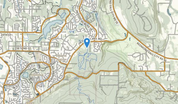 Duthie Hill Park Map