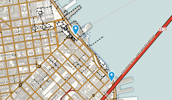 Embarcadero Plaza Map