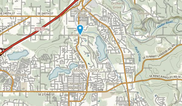 Fernwood Park Map