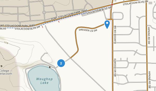 Fort Steilacoom Park Map
