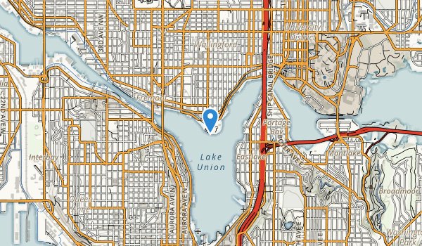 Gas Works Park Map