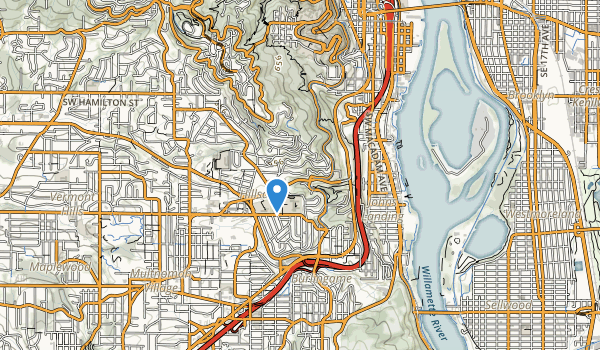 trail locations for George Himes Park