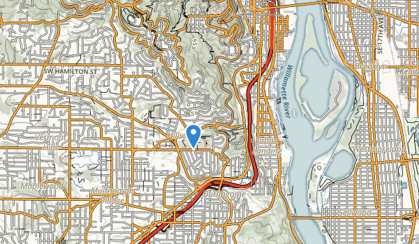 George Himes Park Map