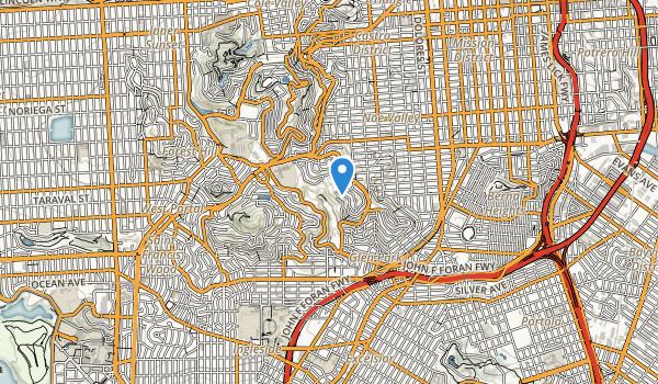 Glen Canyon Park Map