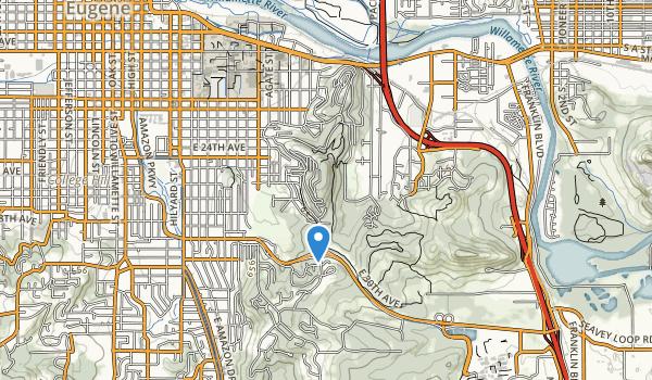 trail locations for Hendricks Park