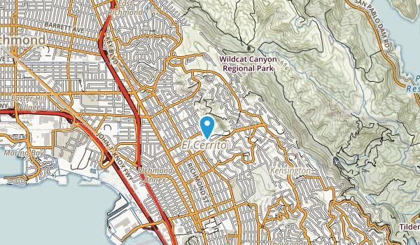 Hillside Nature Area Map