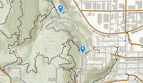 Holman Park Map