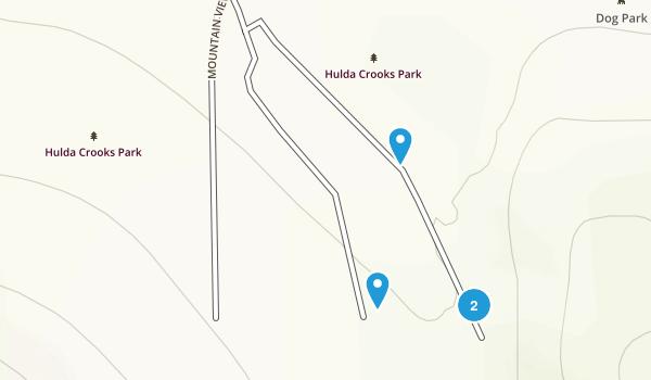 Hulda Crooks Park Map