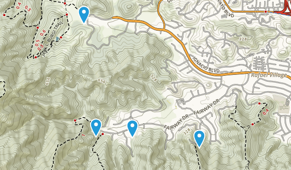 Ignacio Valley Preserve Map