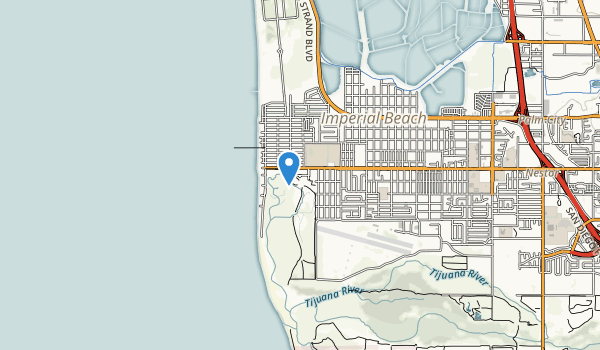 trail locations for Imperial Beach Sports Park