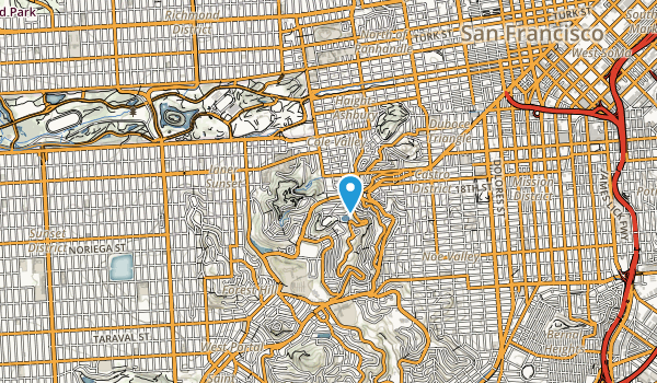 Interior Park Belt Map