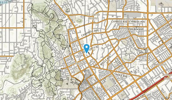 La Sierra Park Map