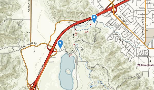 Lagoon Valley Regional Park Map