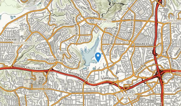 Lake Murray Park Map