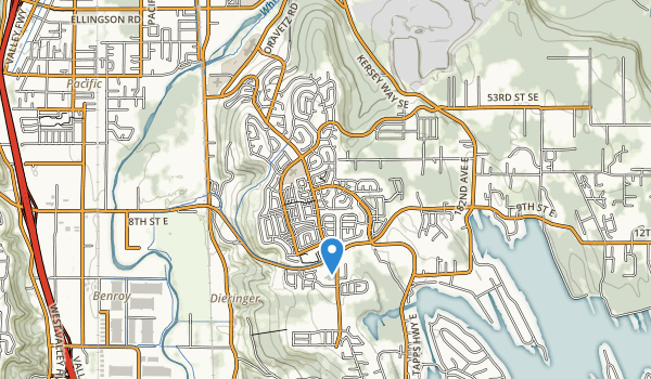 trail locations for Lakeland Hills Park