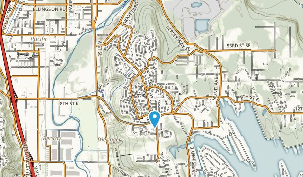Lakeland Hills Park Map