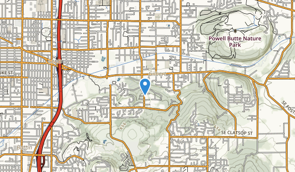 Leach Botanical Garden Map