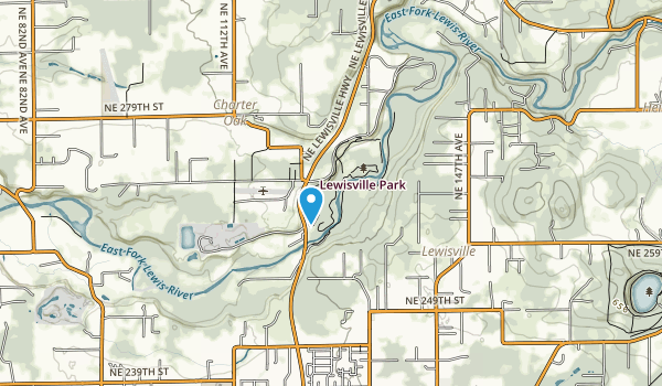 Lewisville Park Map