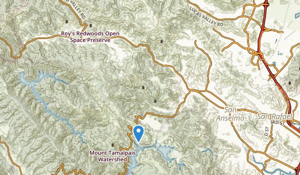 Loma Alta Preserve Map