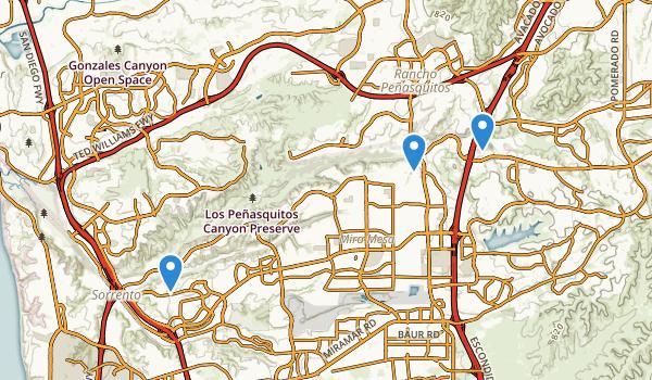 Los Penasquitos Canyon Presv Map