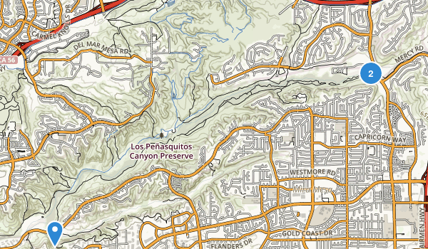 Los Penasquitos Canyon Presv Map