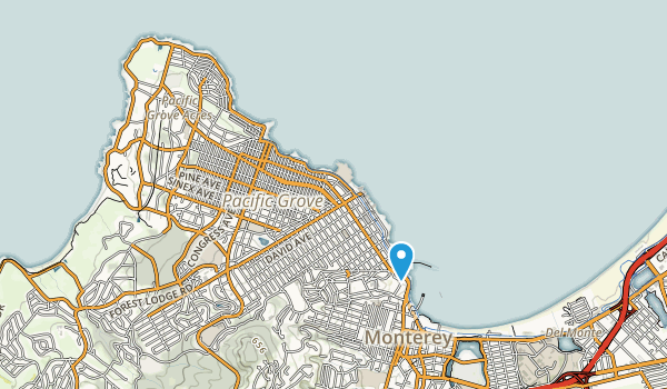 Lovers Point Park Map