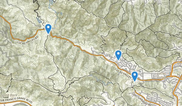 Lucas Valley Preserve Map