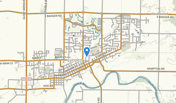 trail locations for Lynden City Park