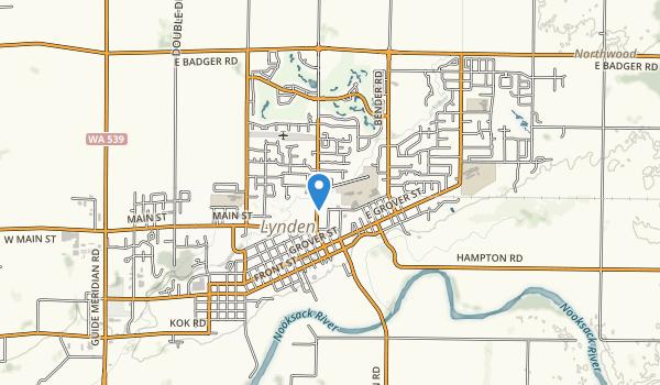 Lynden City Park Map