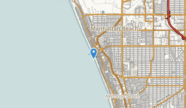 Manhattan Beach County Park Map