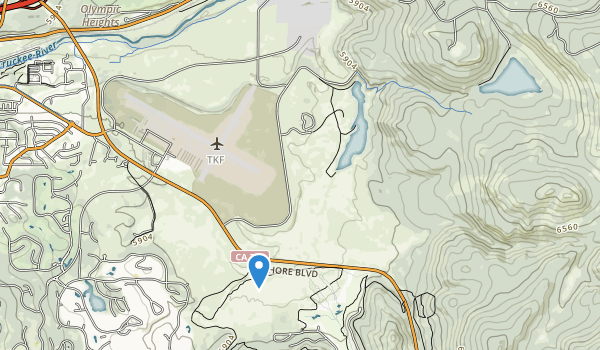 Martis Creek Lake Rec Area Map
