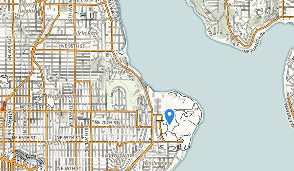 Matthews Beach Park Map