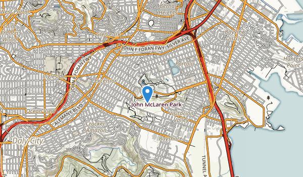 Mclaren Park Map