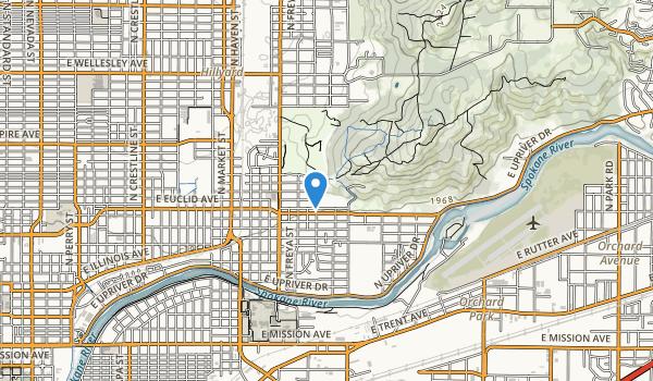 trail locations for Minnehaha Park