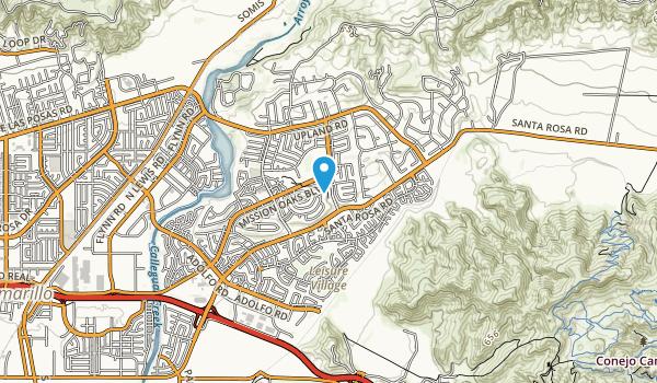 Mission Oaks Community Park Map