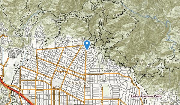 Mount Lowe Park Map