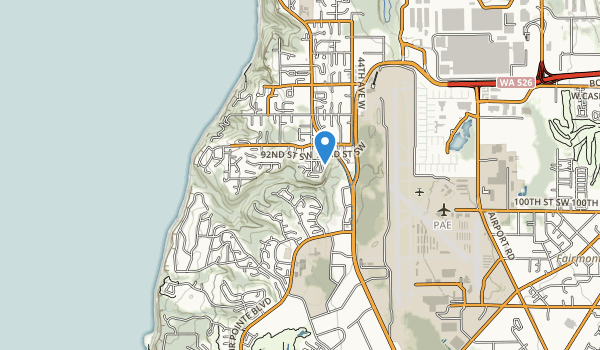 North Gulch Open Space Map