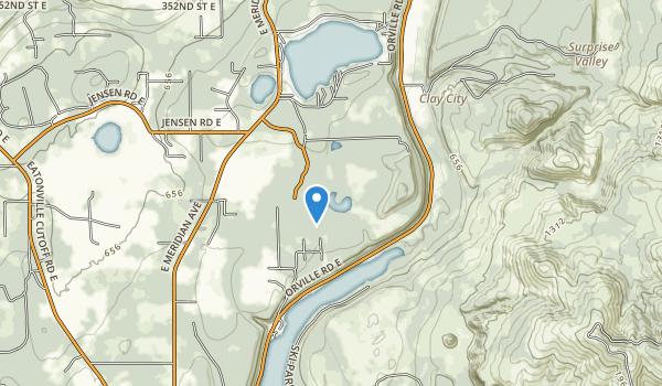 trail locations for Northwest Trek Wildlife Park