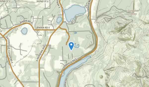 Northwest Trek Wildlife Park Map