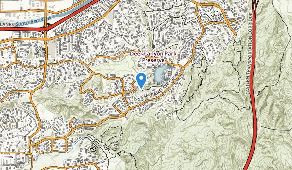 Oak Canyon Nature Center Map