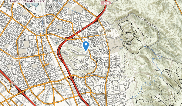 trail locations for Old Mission Park