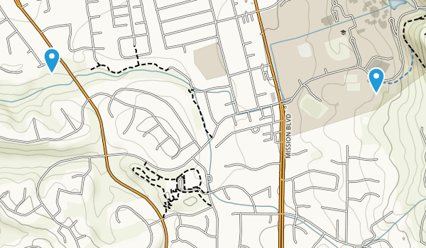 Old Mission Park Map