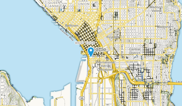 Pioneer Square Park Map