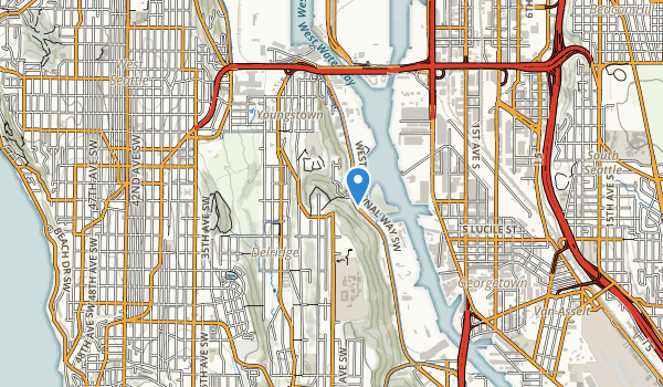 trail locations for Puget Park