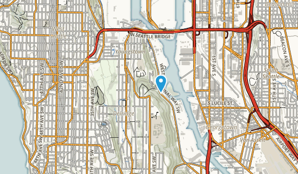 Puget Park Map