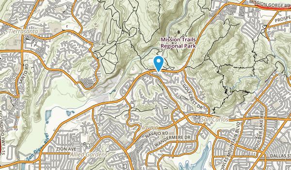Rancho Mission Canyon Park Map