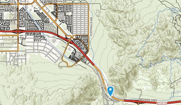 River Mountain Park Map